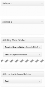 Editing WordPress widget areas to allow flexible dynamic sidebars